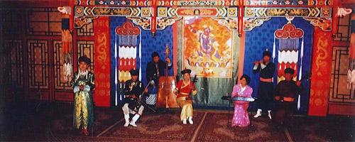Mongolische Kinder